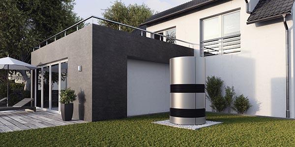 Wohnraumlüftung Solaranlagen-Wärmepumpe Klima